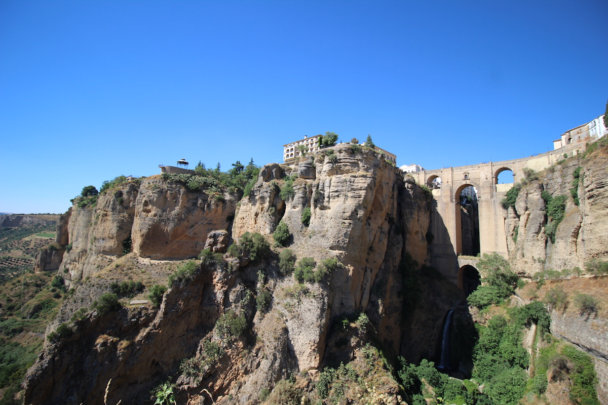 ronda pont nuevo andalousie espagne