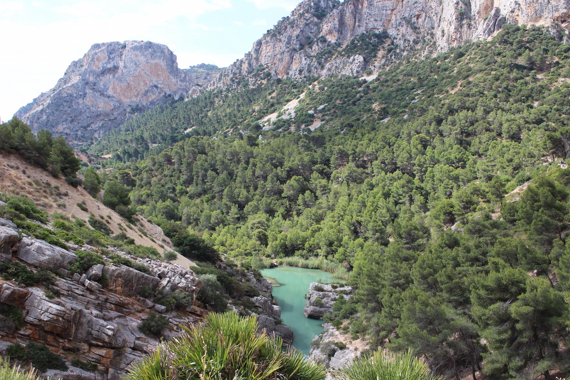 paysage caminito del rey, espagne