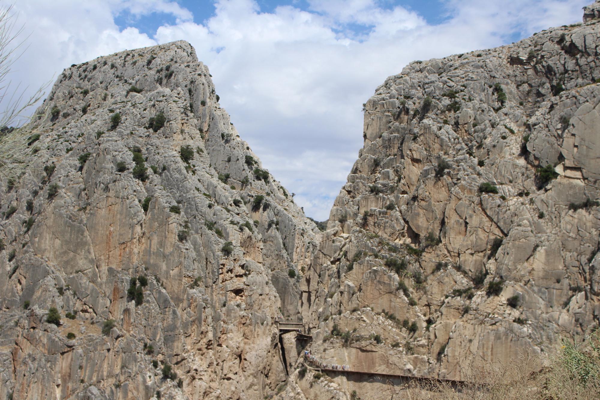 caminito del rey, andalousie, espagne