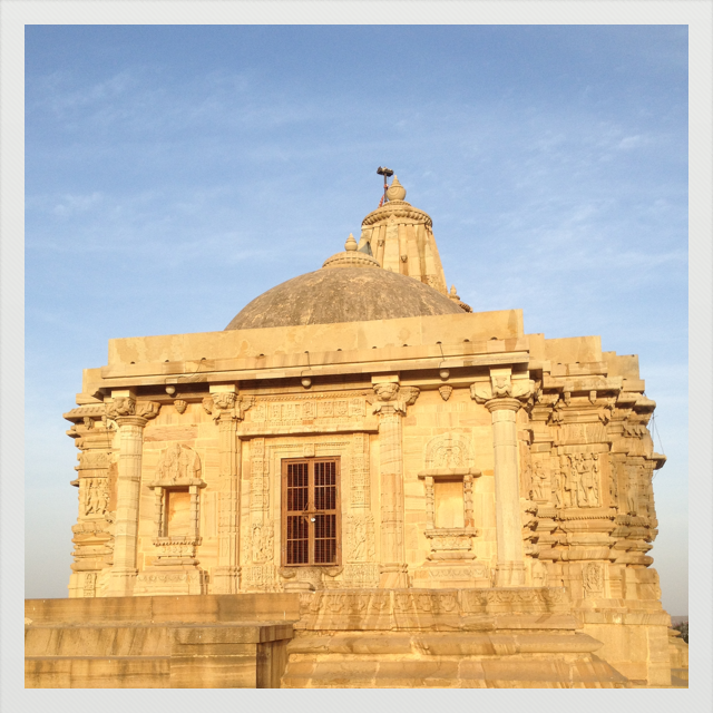 Chittor Temple, Inde