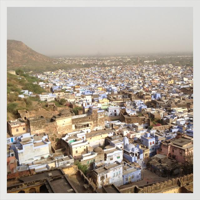 Vue sur Jodhpur, Inde