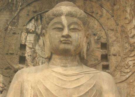Bouddha, Longmen, Chine