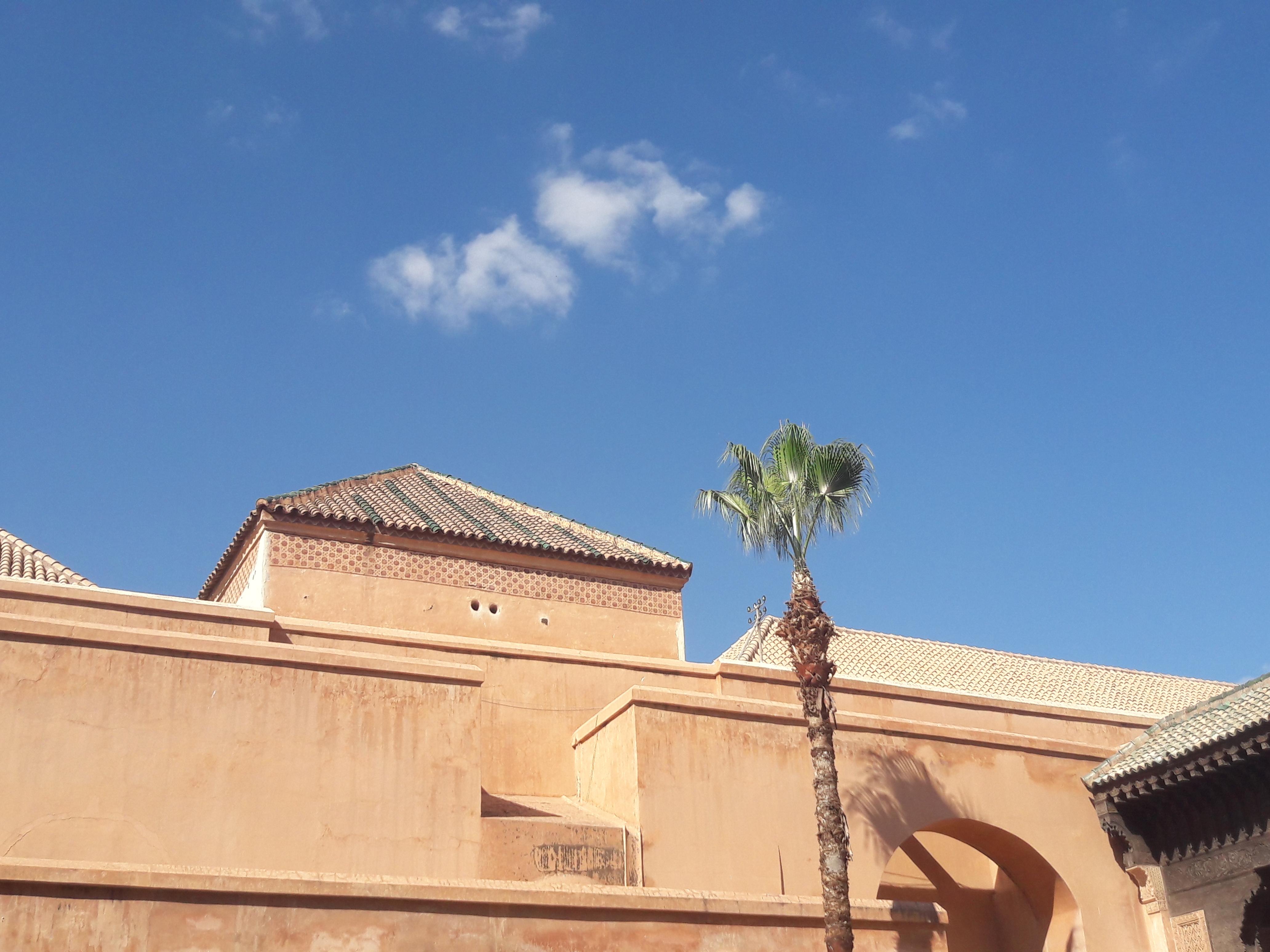 tombeaux marrakech