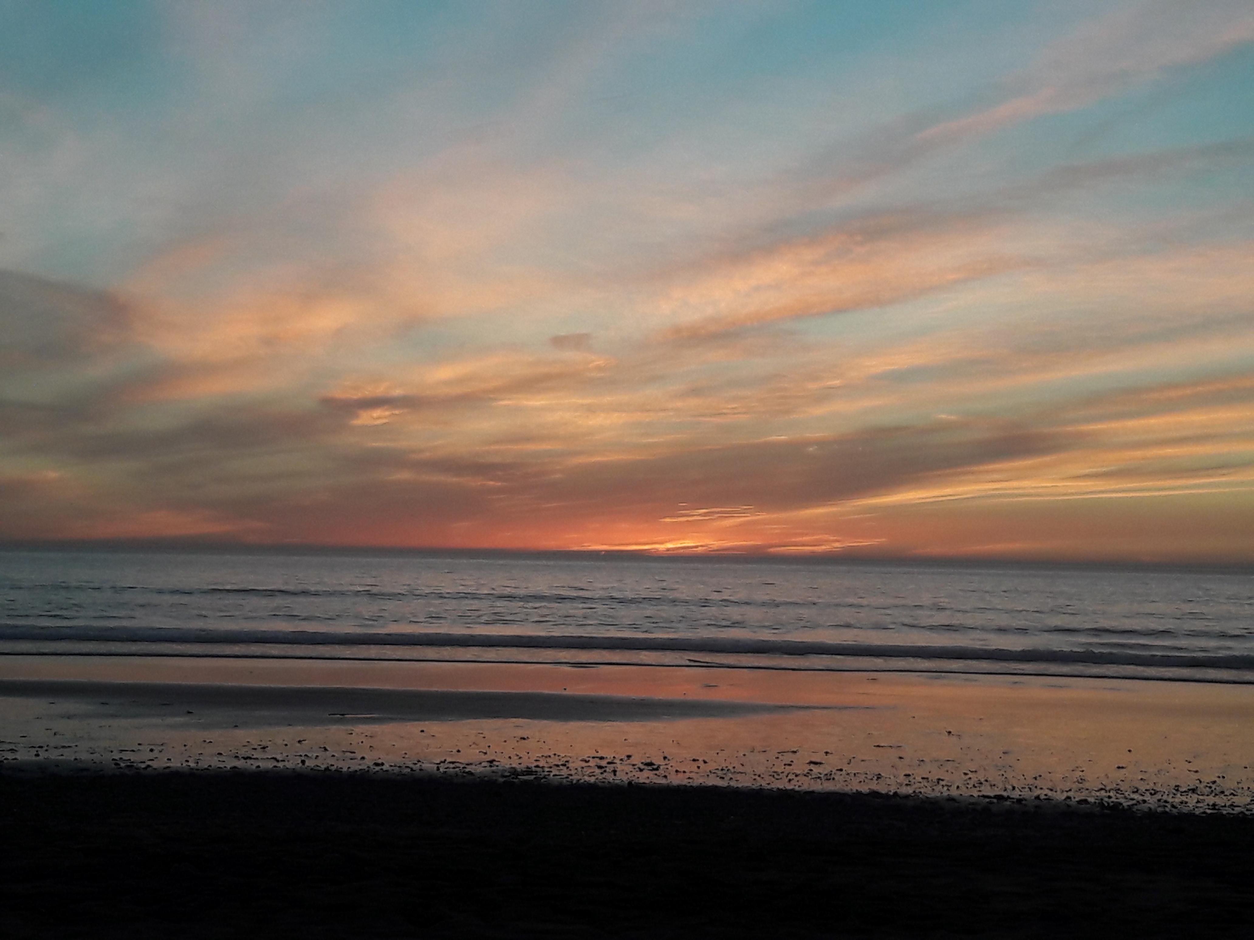 agadir sunset maroc