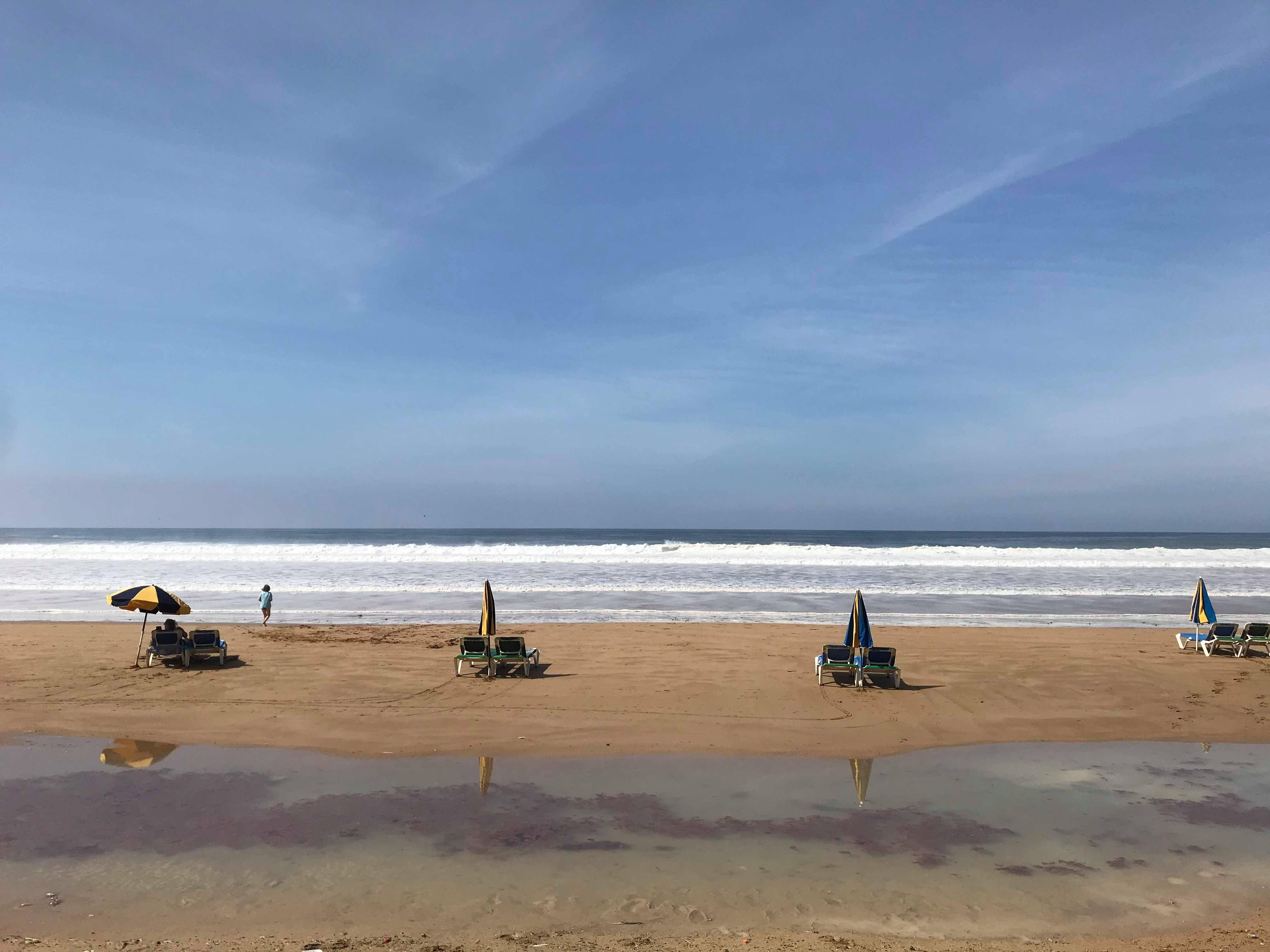 km 25 agadir maroc plage